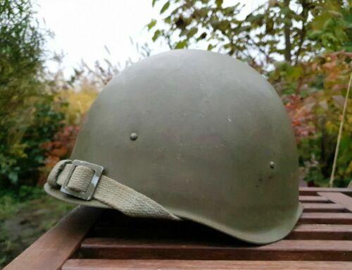 Original Steel Helmet SSh 40 WWII Russian Military Soviet Army RKKA WW2