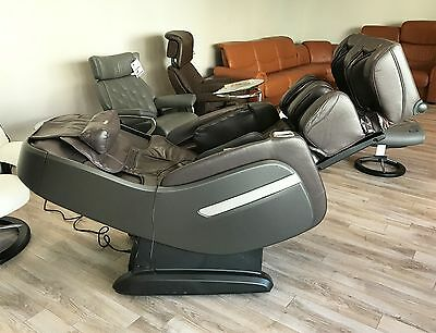 Osaki Titan TP Pro Alpine L-Track Massage Chair Zero Gravity Recliner Heat Brown