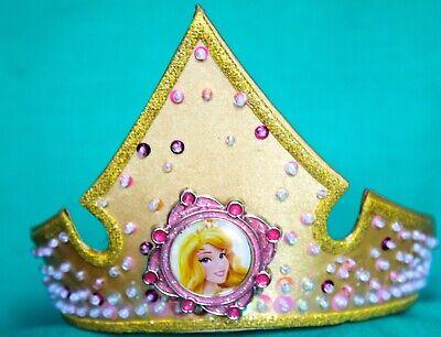 Disney Princes Costume (DISNEY PARKS PRINCES AURORA COSTUME TIARA DISNEY PRINCESS CROWN TIARA)