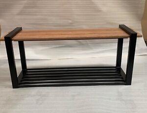 Handmade Bench seat with shoe storage
