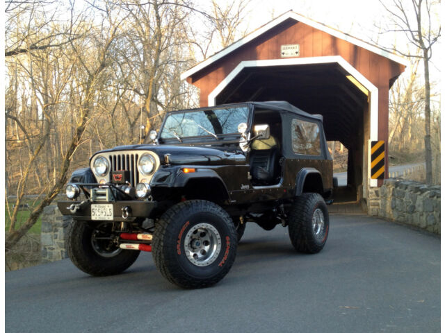 1986 Cj 7 Custom Cj 8 Scrambler 35 Quot Tires Big Lift