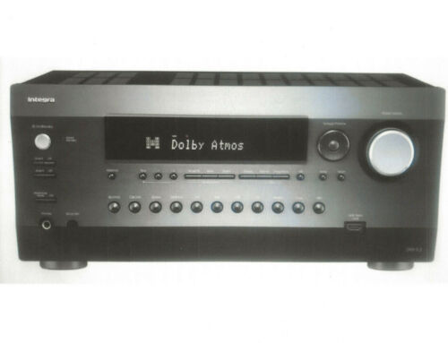 integra drx5.2 9.2channel network a/v receiver