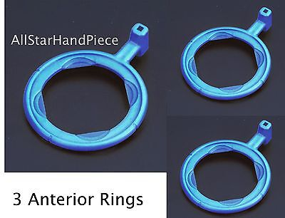 3 Anterior X-ray Aiming Rings Color Coded Rinn Xcp Style Blue X-ray Positioning