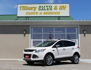2015 Ford Escape SE*LTHR*NAVI*Back-Up Cam*Low Kms*
