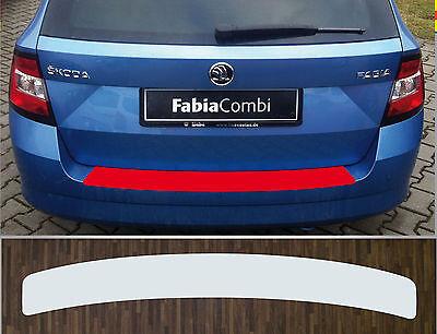 Lackschutzfolie Ladekantenschutz transparent Skoda Fabia 3 Combi Kombi, ab 2015