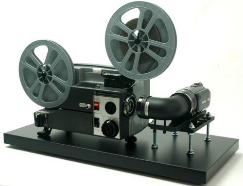 Video Transfer Movie Film Projector, Telecine , Dual 8, Reg.8 and Super 8 Silent
