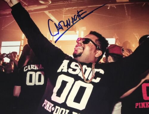 Carnage DJ Dance Electronica Signed 8x10 Autographed Photo COA E7