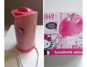 Hello Kitty Mixer & Kettle