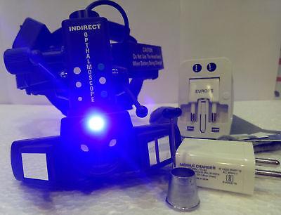 Wireless Led Binocular Indirect Ophthalmoscope Free Shipping Worldwide