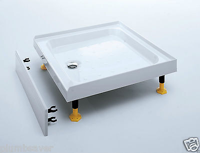 Coram  Easy Fit Alcove Shower Tray 760 x 760mm