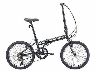 "EuroMini ZiZZO Campo 2019 20"" Aluminum Folding bike (28lbs)"