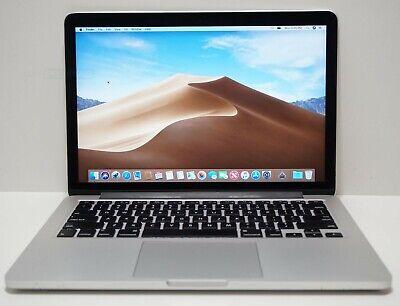 "Apple MacBook Pro Retina Display 128GB Core i5 2.7GHz 8GB 13"" MF839LL/A Catalina"