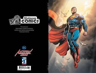 Action Comics #1000 Yesteryear Comics Jason Fabok virgin set.