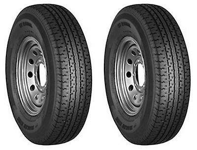 2 (TWO) ST 175/80R13 6pr LRC Hiway Speed Radial Trailer Service Tires NEW