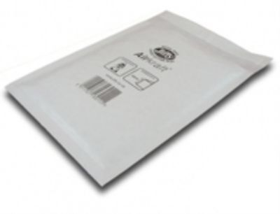 100 White Jiffy Airkraft Postal Bags Bubble-lined Peel and Seal - Size 1 (170...