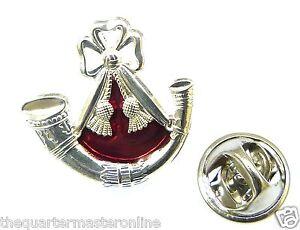 The Light Infantry Lapel Pin Badge