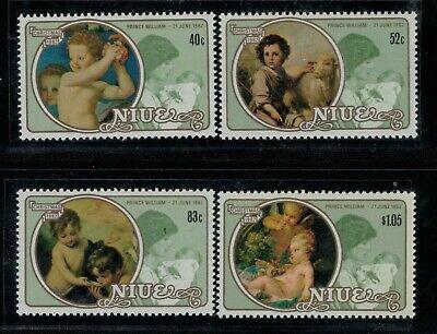 Niue Scott 360 - 363 in MNH Condition