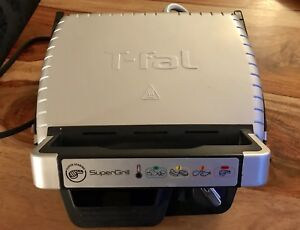 T-Fal Supergrill Indoor Grill BBQ TFAL Electric LIKE New