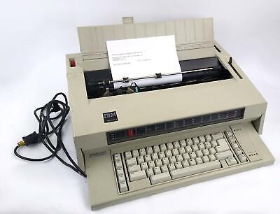 Vintage Ibm Wheelwriter 3 Electric Typewriter Tested Working