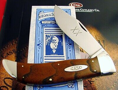 Case Classic Bois D'Arc Clasp Knife '90 Stamp TOTAL Different From Production NR