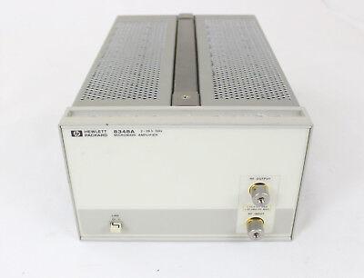 Hp Agilent Keysight 8348a Microwave Amplifier 26.5 Ghz 10 Vdc 20 Dbm Rf Tested