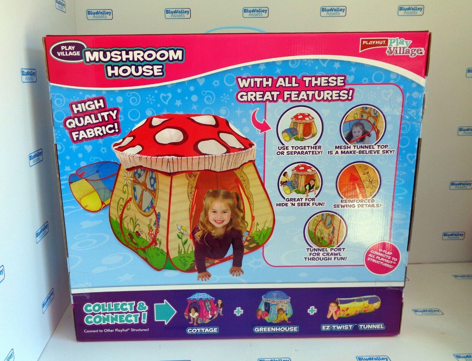 Playhut Play Village Mushroom House Play Tent