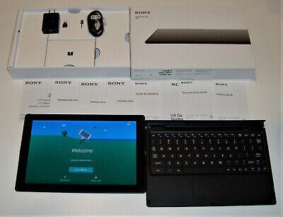 Sony Xperia Z4 SGP771 32GB, Wi-Fi 4G (Unlocked) 10.1in Black w/BKB50 & extras