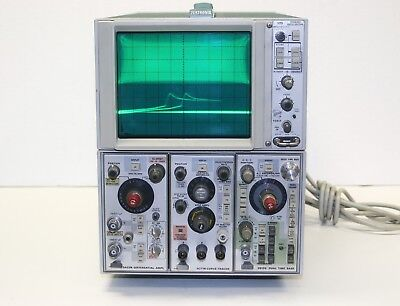 Tektronix 5115 Oscilloscope W Differential Ampl Curve Tracer Dual Time Manual