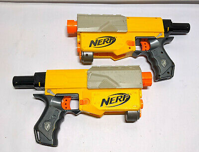 Lot of 2 Nerf N-Strike Recon CS-6 Dart Blaster Gun Main Bodies Only