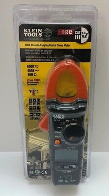 Klein 400A AC Auto Ranging Digital Clamp Meter for HVAC Electrical Tester CL312 ()