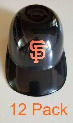 MLB SF Giants Mini Snack Helmet Ice Cream Bowl Set (12 Pack) - -