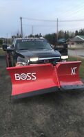 Commercial and residential plowing