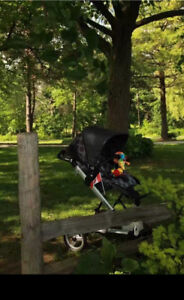 Peg Perego Skate Stroller with bassinet and infant seat