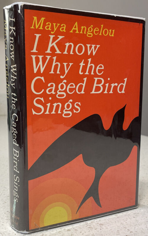 Maya Angelou - I Know Why the Caged Bird Sings ~ SIGNED First Edition 1st Print