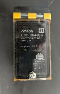 Omron Photoelectric Switch E3b2-d2m4-us-n 12-240vdc 24-240vac