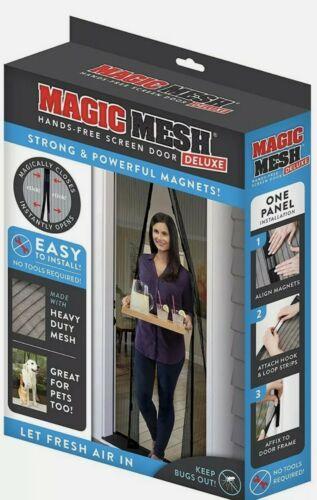 Magic Mesh Hands-Free Screen Door, 1 Each
