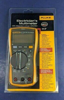 Brand New Fluke 117 Electricians Multimeter Original Packaging