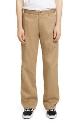 Noon Goons Mens 32 Khaki Beige No Doubt Wide Leg Chinos Pants Twill