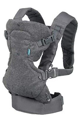 Infantino Flip 4-in-1 Convertible Baby Carrier - Gray