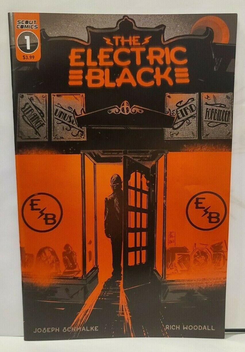 Electric Black 1 1st Print Scout Comics 2019 Joseph Schmalke OPTIONED NM - $5.50