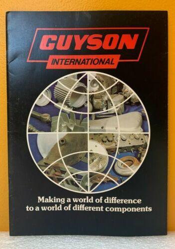Guyson International Limited Catalog.
