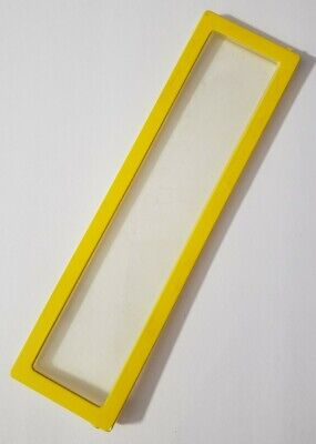 """BARBIE DOLL FURNITURE A-FRAME DREAM HOUSE 1978 REPLACEMENT 7.5"""" YELLOW WINDOW"""