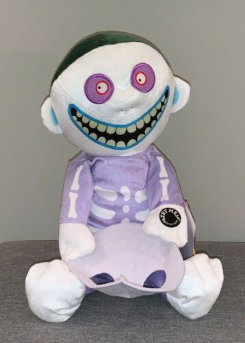 Animated Musical Barrel with Mask Plush Action Figure Nightmare Before Christmas
