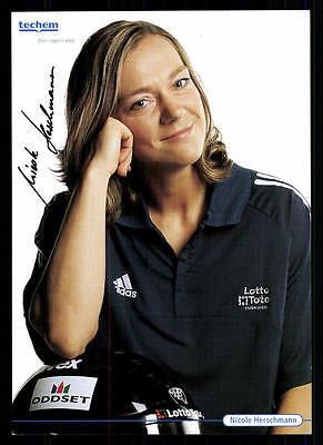 Nicole Herschmann Autogrammkarte Original Signiert Rodeln+ A 115451