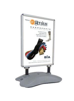 Outdoor Wind Resistant Poster Sign Menu Board Sidewalk Marketing Snapframe