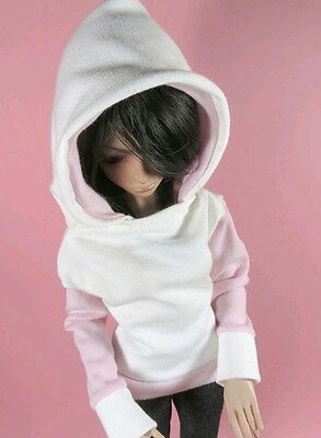 Pink and Cream Hoodie for MSD Ball Jointed Doll 1/4 size