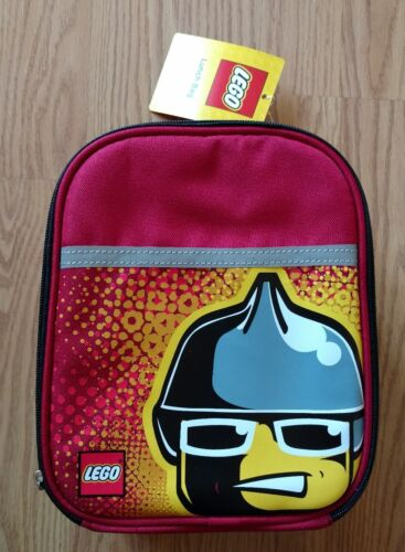 city insulated lunch bag red fireman single