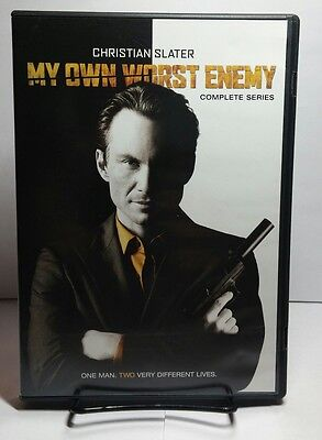 My Own Worst Enemy:The Complete Series(DVD,2009)Christian Slater-Free Shipping