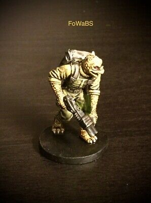 Star Wars Miniatures Bounty Hunter Imperial Assault  B painted by FoWaBS