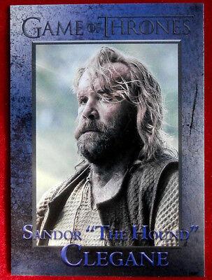 "GAME OF THRONES - Season 6 - Card #42 - ""THE HOUND"" - Rittenhouse - 2017"